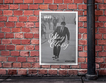 Vans Ad Campaign 'Stay Classy'