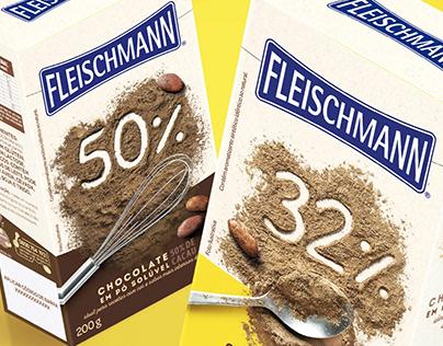 Chocolate em Pó Fleischmann