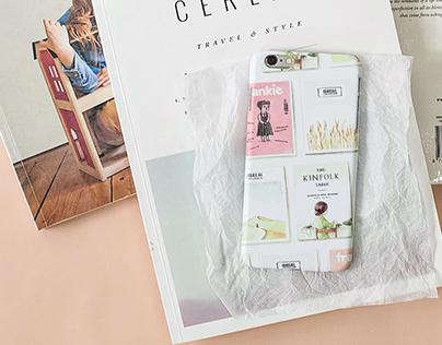 Cluelessbrand - iphone case