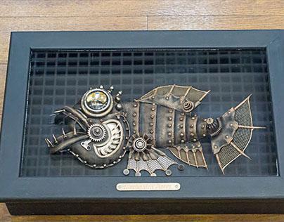 механическая рыба Экспонат (Mechanical fish Exhibit)