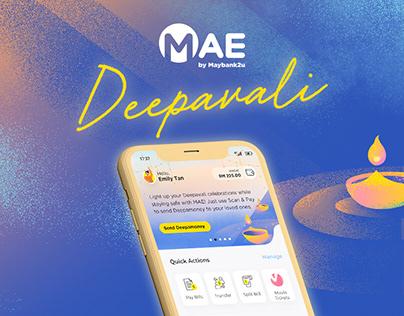 MAE by Maybank2u Deepavali 2020 Visuals