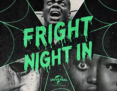 Fright Night In - Universal campaign