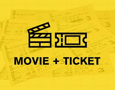 Design Process - Movie Ticket Re-Design