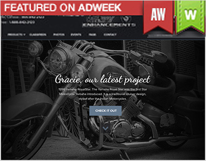 Motorcycle Enhancements Website