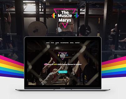 The Muscle Marys website