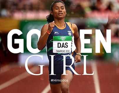 Hima Das | Golden Girl