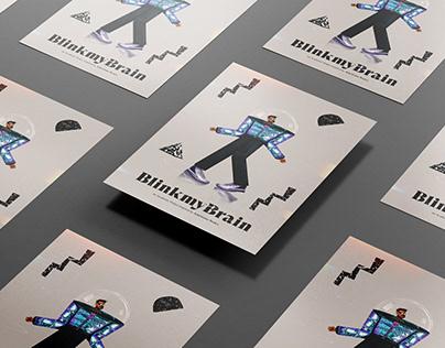 "Ariel Costa ""Blink My Brain"" - Tribute Poster"