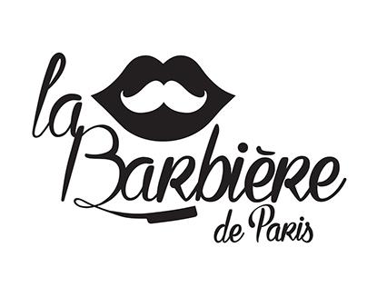 LA BARBIÈRE DE PARIS  Création de l'identité visuelle