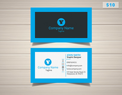 Contractor Business Card Templates