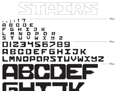Stairs Typeface