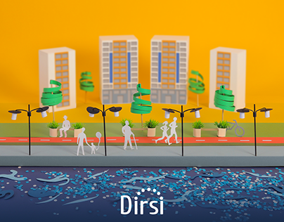 Dirsi - Papercraft Project