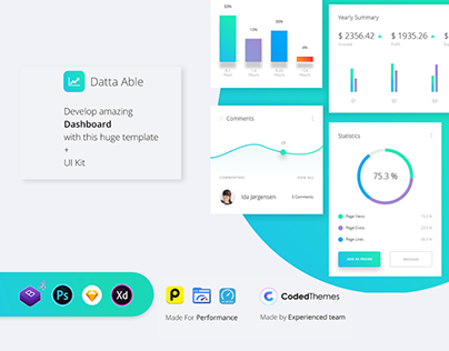Datta Able Pro Bootstrap 4 Admin Template
