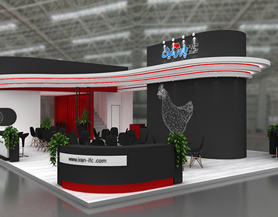 Exhibition stand - Pars Niak - 2019