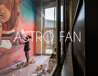 ASTRO FAN | Urban Art Project