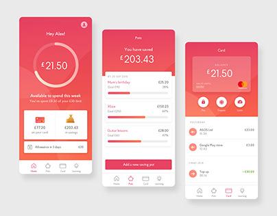 Educational Mobile Banking App