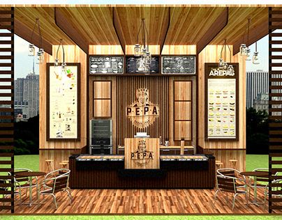 Diseño de espacio comercial - Doña Pepa