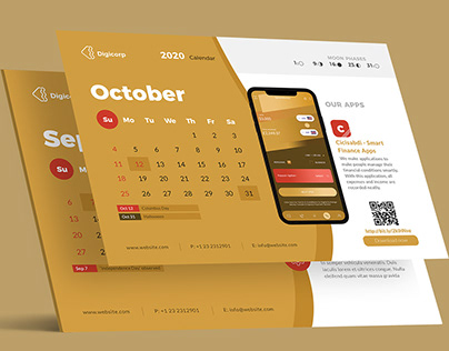 Desk Calendar & Company Profile