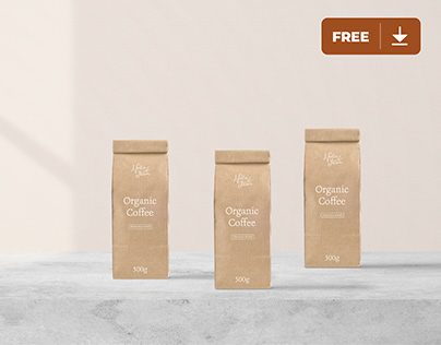 Packaging Mockup Freebie - Min No.1