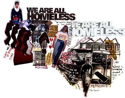 """""""We are all homeless"""" collection-Housing Emergency"""