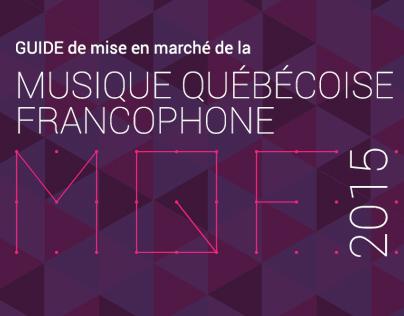 Guide de mise en marché de la MQF 2015
