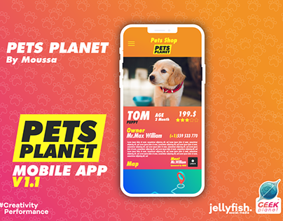 Pets Planet Mobile APP