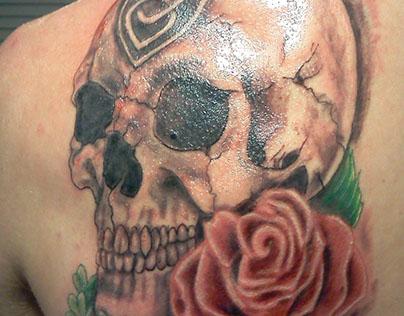 Billy's Celtic Skull