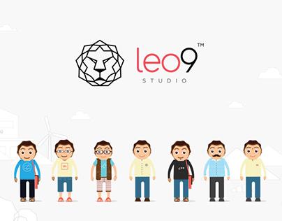 Leo9 Studio - UX UI - Mobile apps - Branding studio.