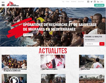 MSF - Médecins sans frontières