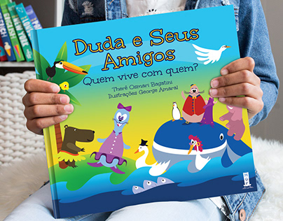 Duda - Children's Book - Illustrations and Design