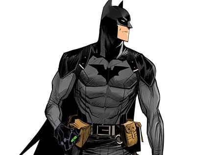Low Tech Batman