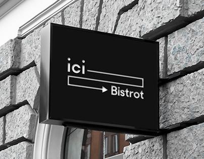 ici Bistrot | Brand design