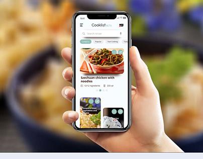 Cooklist - Concept