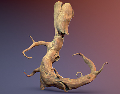 Stylized tree monster (real time 3D)