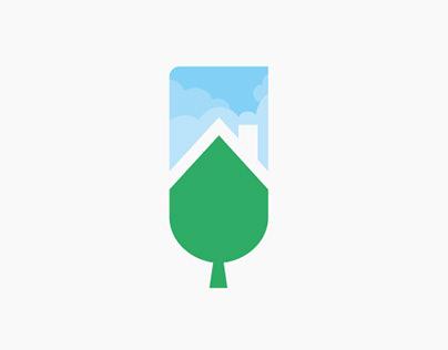 Logo Empresa construcción sostenible