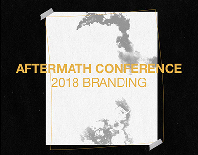 Aftermath Conference • Branding