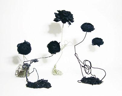 future flower sculpture