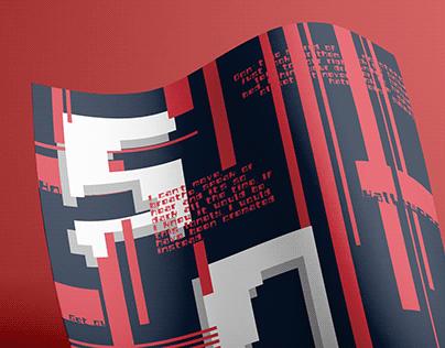 Melter-Modular Typeface Design 模块化字体设计