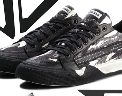 Diesel S-Grind skate shoe