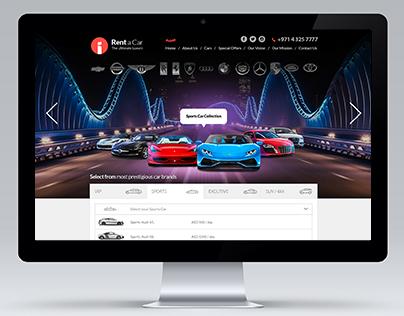 Dubai - Rent a Car - UI / UX