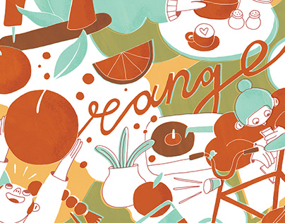 """Cafe """"Orange"""""""