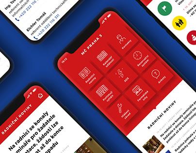 Praha 3 app