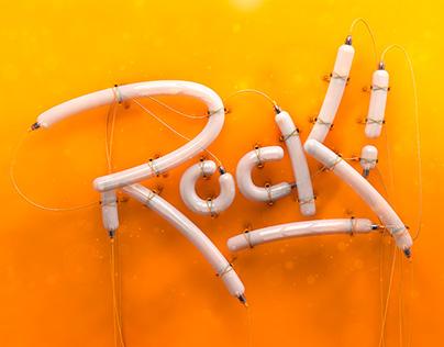 Rock! Curso Lettering 3D