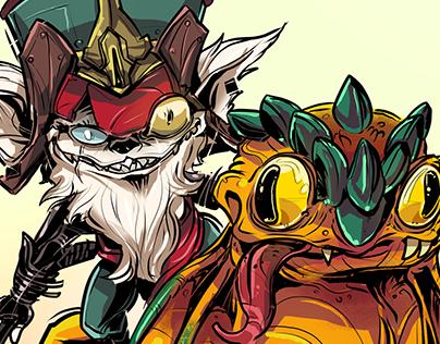 Kled // League of Legends Fanart