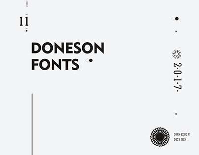 2017 fonts work