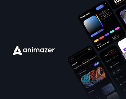 Web & Mobile application UX/UI Design   Animazer