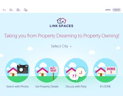 Link Spaces Web Design