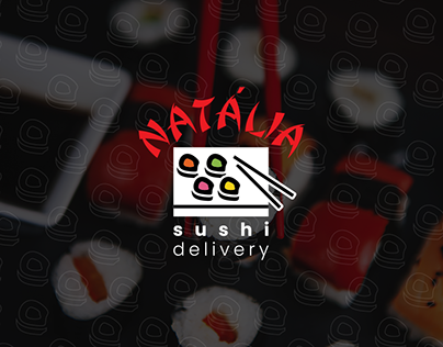 Natália Sushi Delivery - Branding