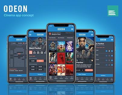 Concept ODEON App