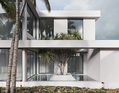 OMAN villa/ exterior
