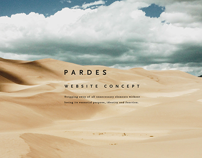 Pardes | Website